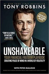 Tony Robbins Unshakeable bookcover